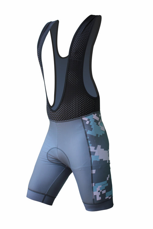 The Weekend Warrior Digital Camo Bib Shorts