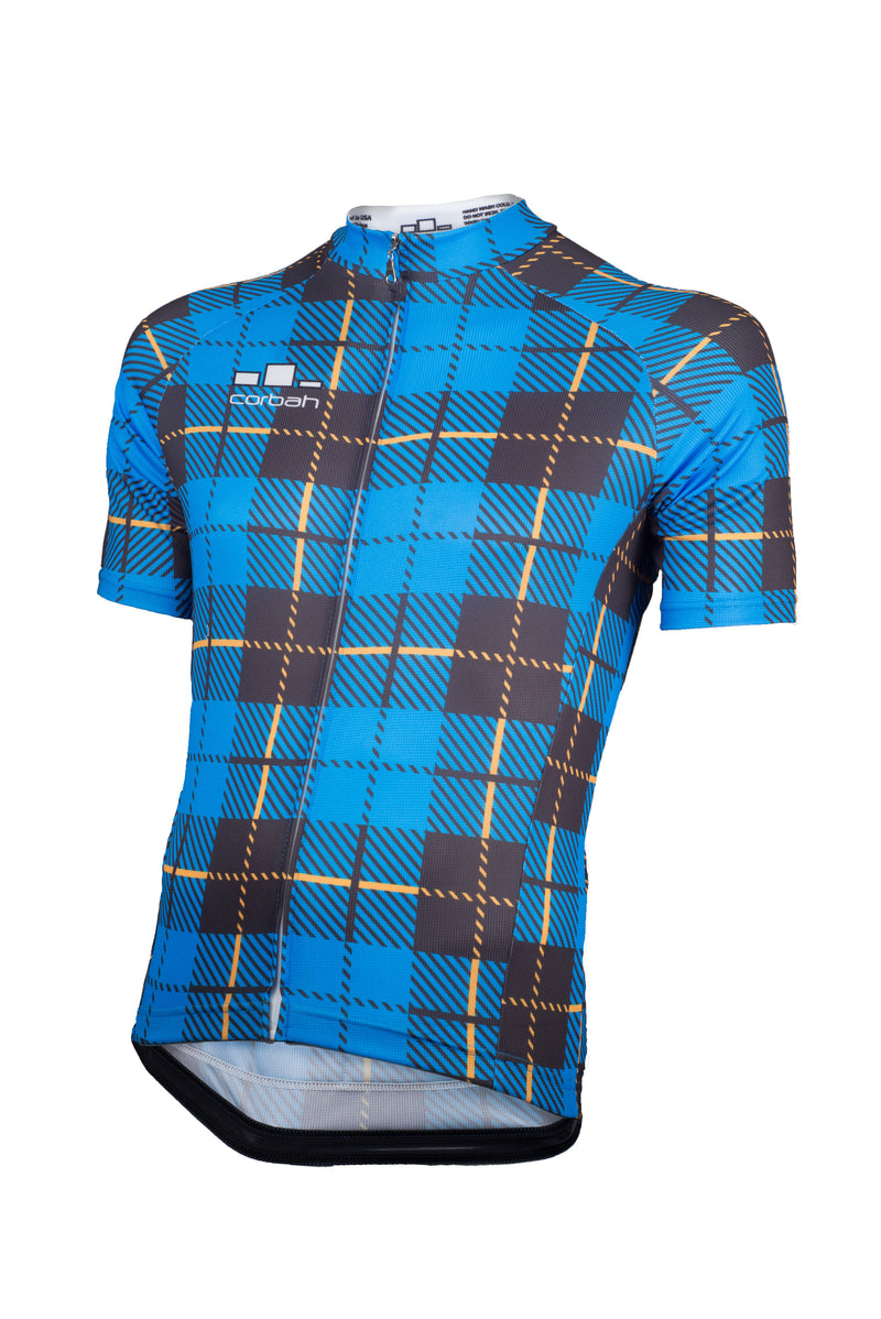 The Scotsman Tartan Cycling Jersey