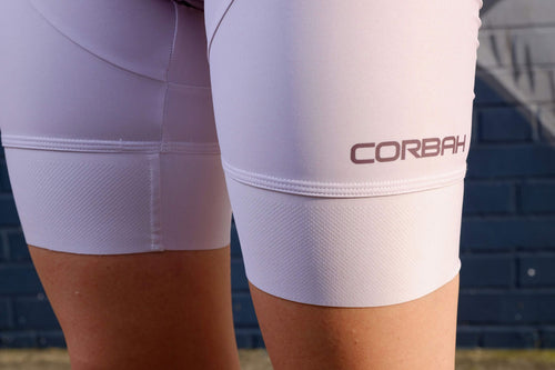 Women's Some Her Mauve Bib Shorts