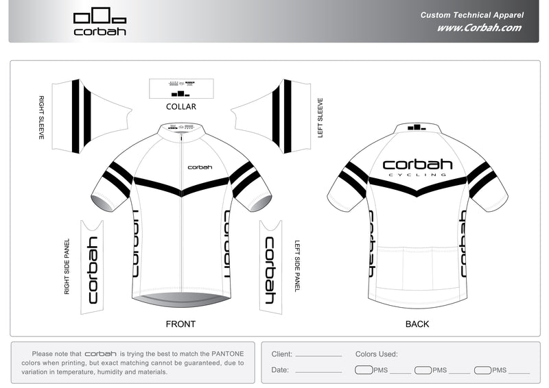 GC Short Sleeve Cycling Jersey