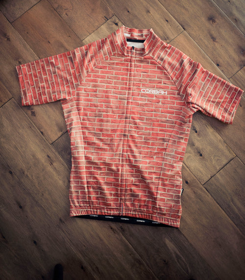 Brick Wall Short Sleeve Cycling Jersey