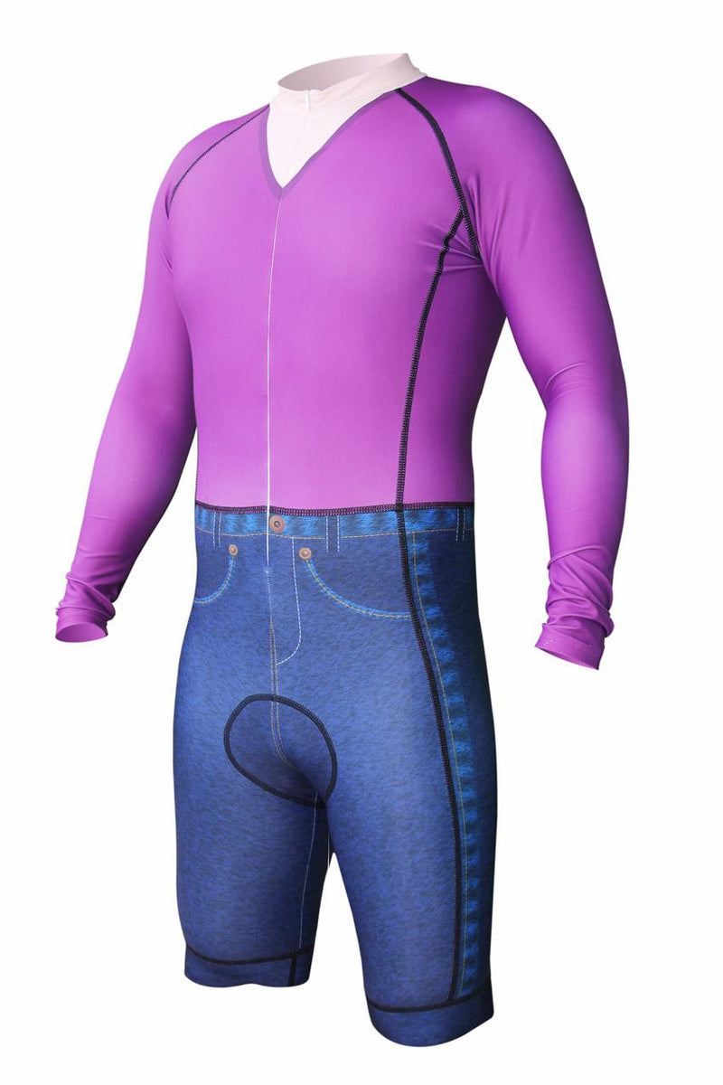 Hipster Cycling Skinsuit
