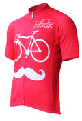 Bicycle Mustache Cycling Jersey