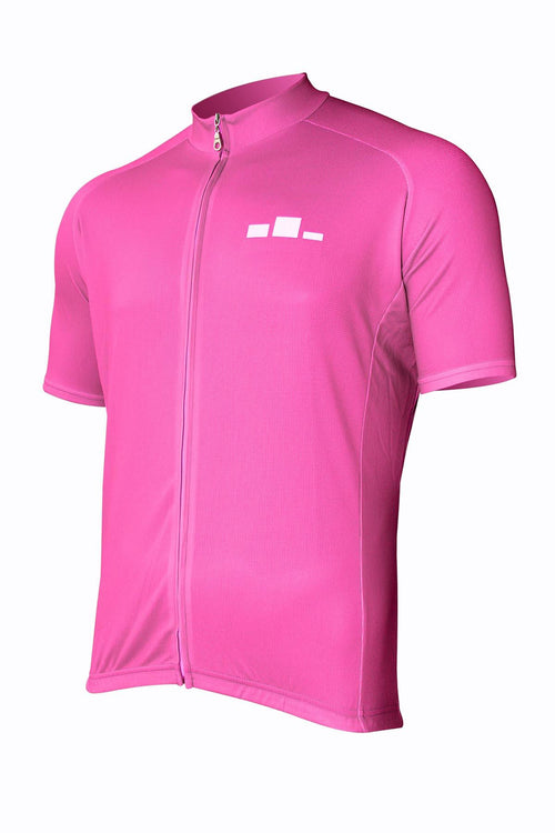 Corbah Solid - Pink Cycling Jersey