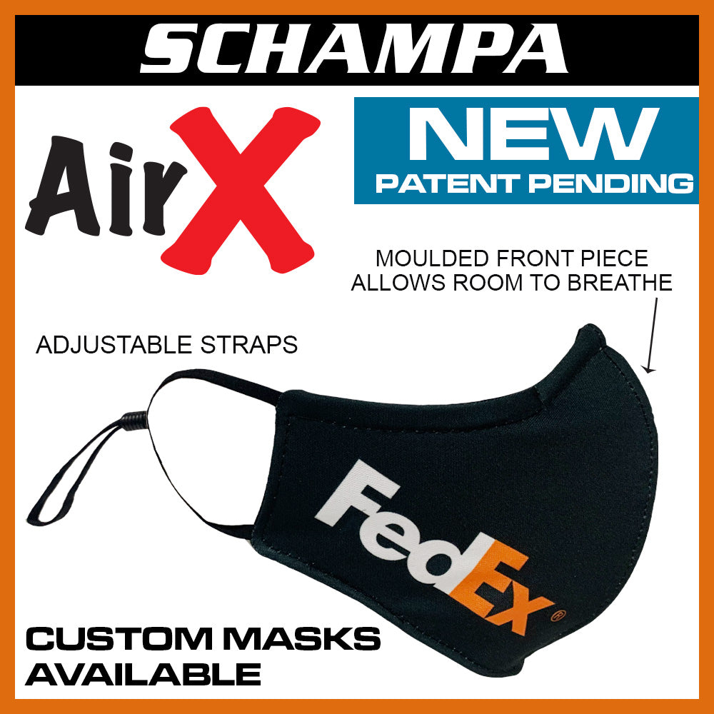 SCHAMPA Air X Custom Facemask