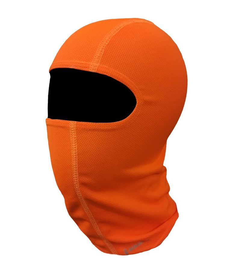 Coolskin Adventure Balaclava: Neon Orange