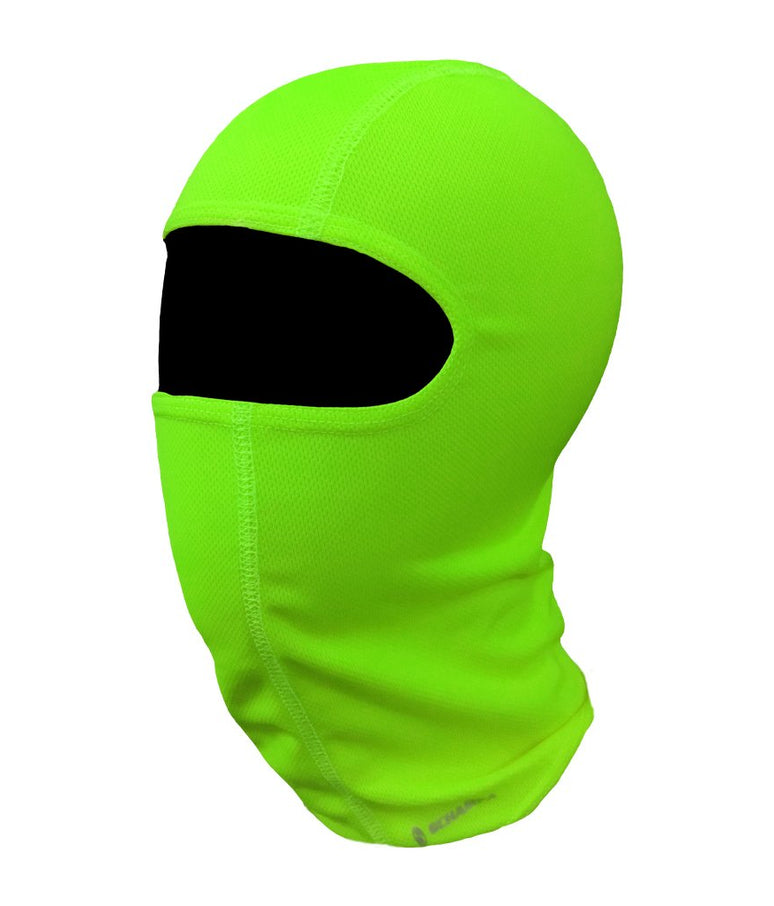 Coolskin Adventure Balaclava: Neon Yellow