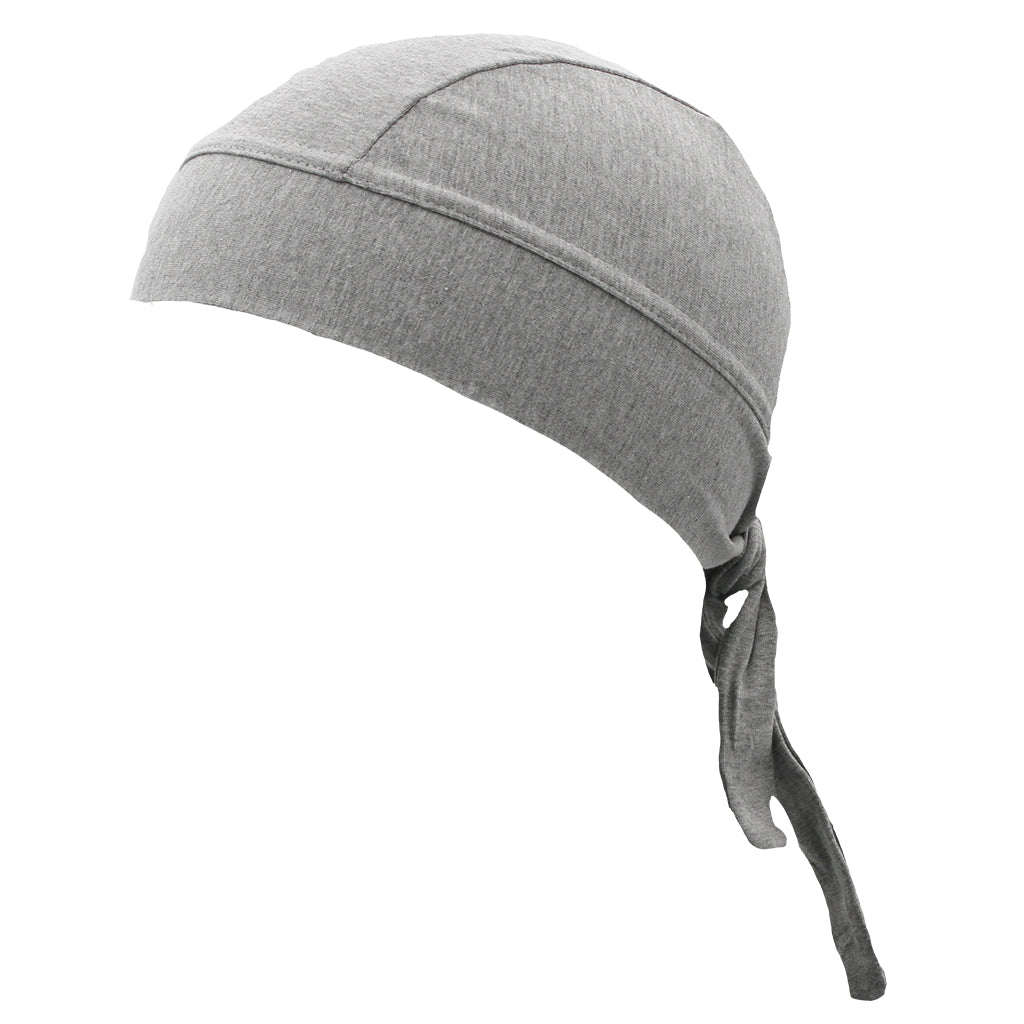 SCHAMPA Stretch Headwrap: Light Grey