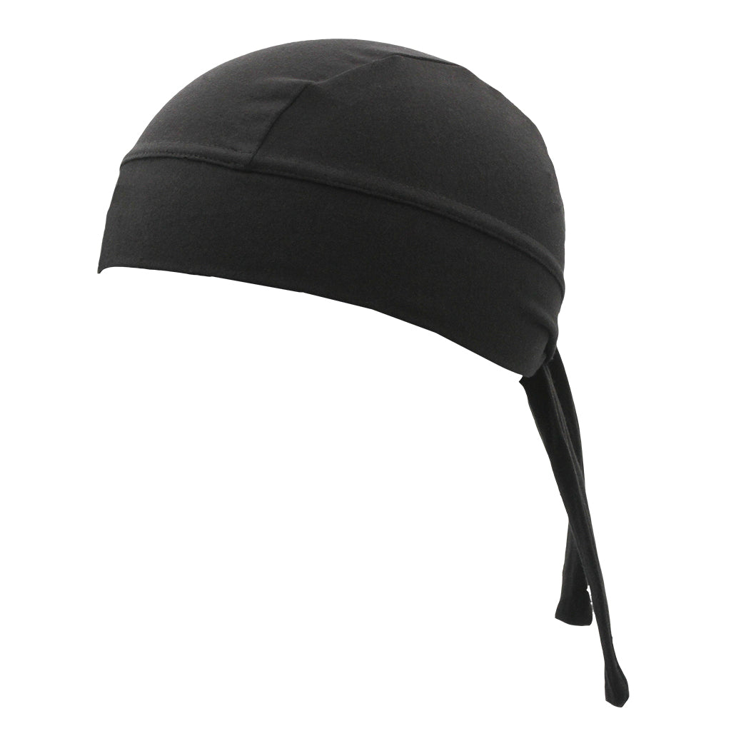 SCHAMPA Stretch Headwrap: Black