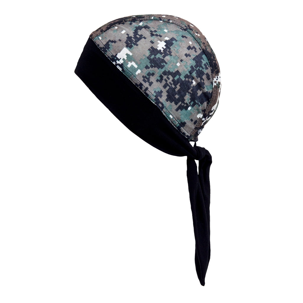 SCHAMPA Stretch Headwrap: Military Camo