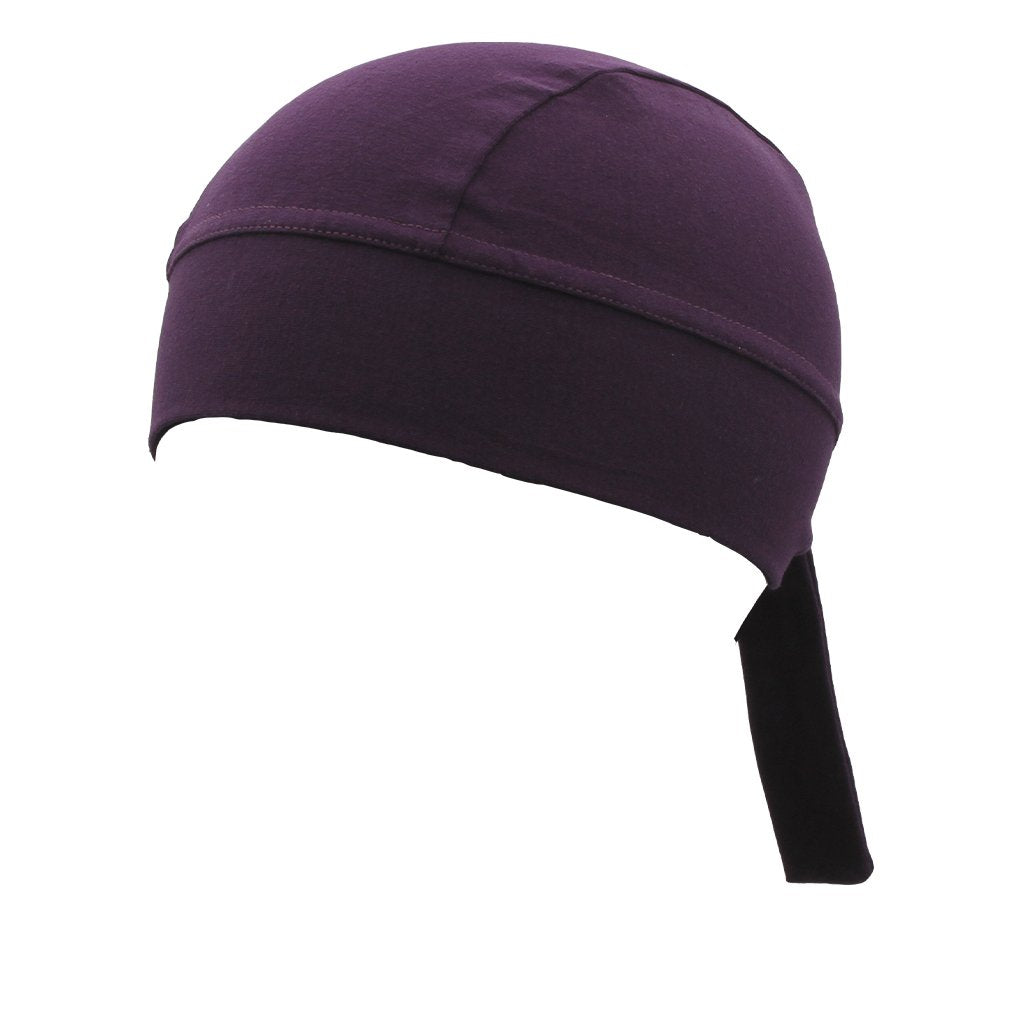 SCHAMPA Stretch Headwrap: Plum