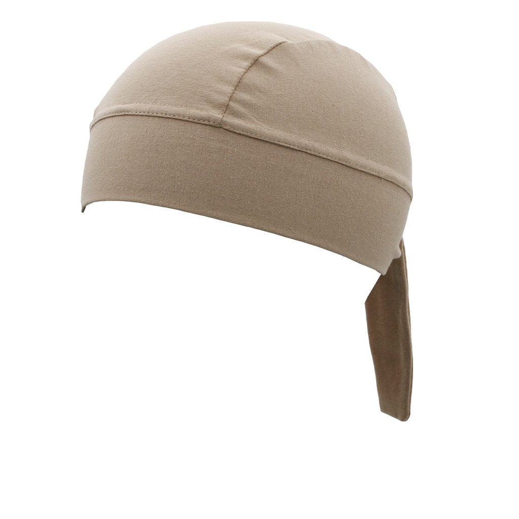 SCHAMPA Stretch Headwrap: Tan