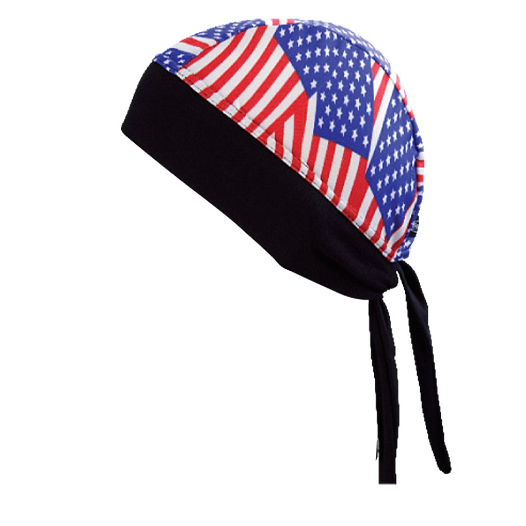 SCHAMPA Stretch Headwrap: New American Flag