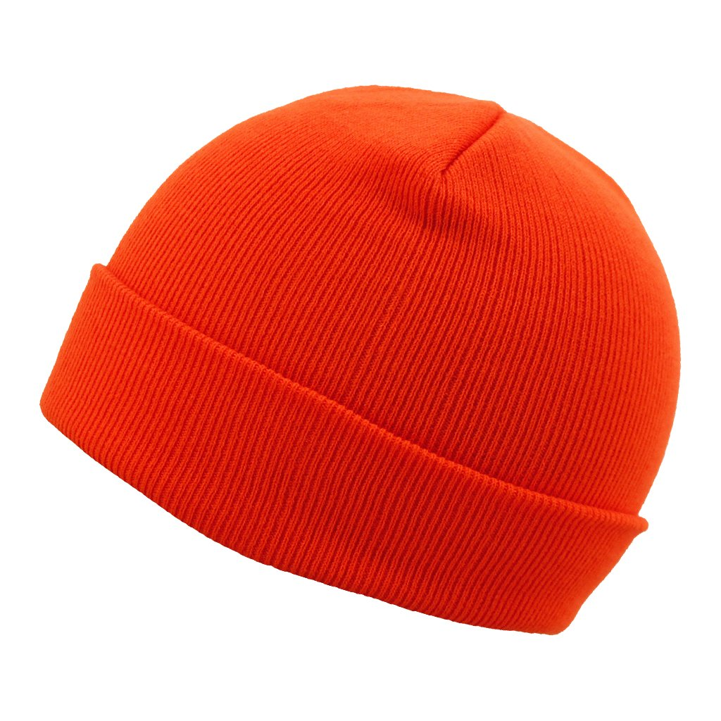 "SCHAMPA 12"" Beanie - Neon Orange"