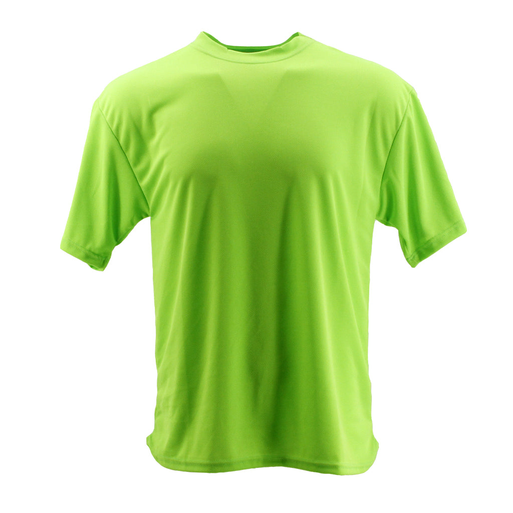 SCHAMPA Coolskin Short Sleeve Shirt: Neon Green