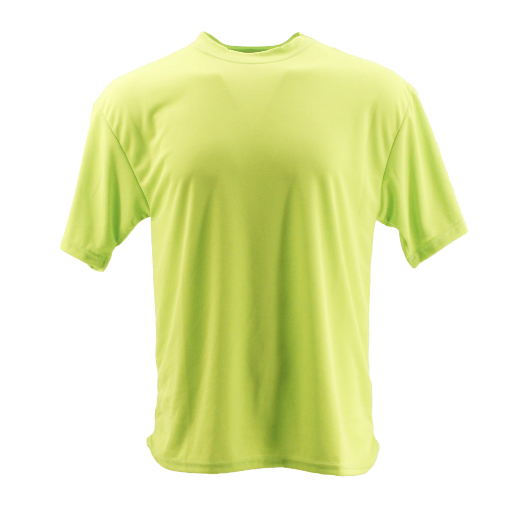 SCHAMPA Coolskin Short Sleeve Shirt: Neon Yellow