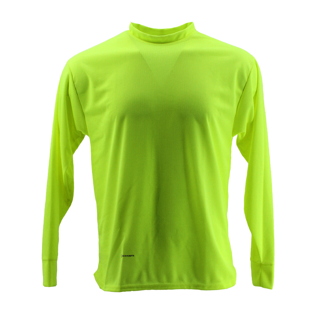 SCHAMPA Coolskin Long Sleeve Shirt: Neon Green