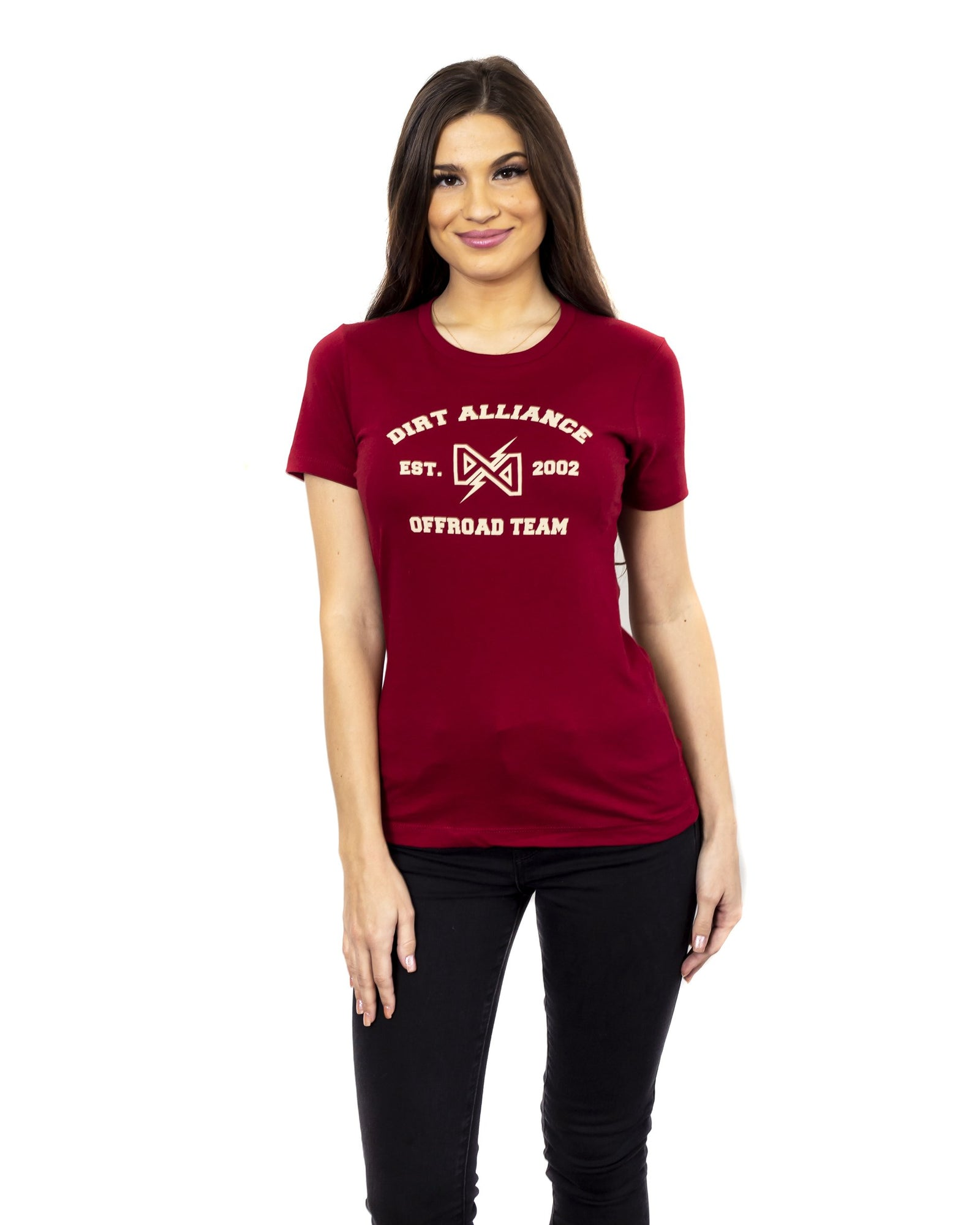 Dirt Alliance Unified Women's T-Shirt - Scarlet Red