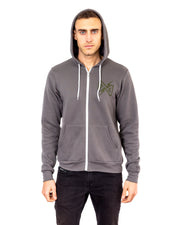 Dirt Alliance Spool Zip-Up Hoodie - Asphalt Grey