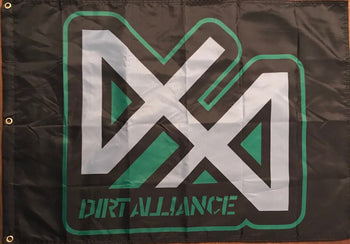Run It In the Dunes Dirt Alliance Flag