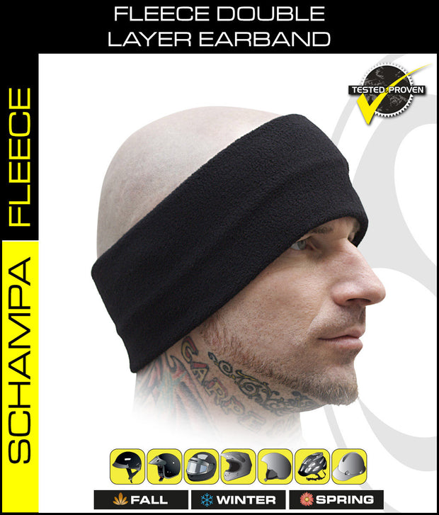 Fleece Double Layer Earband