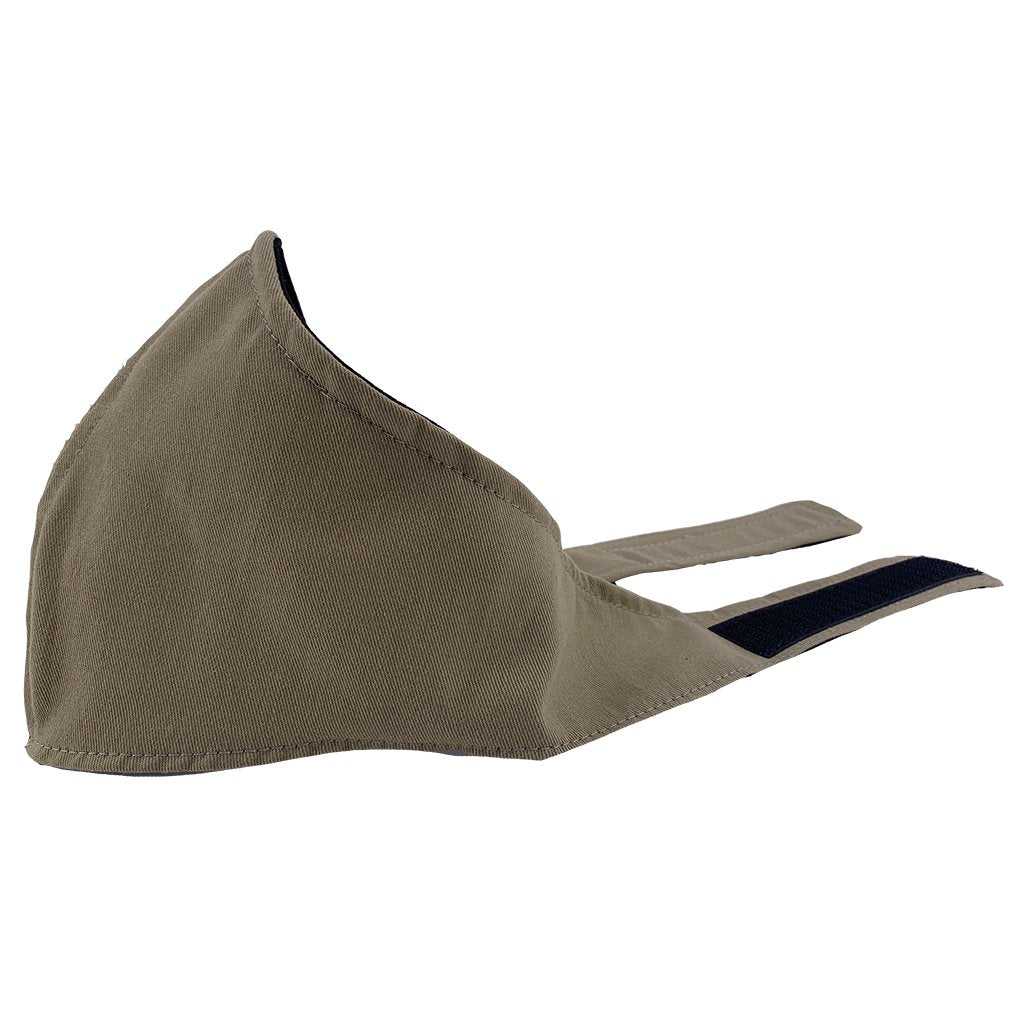SCHAMPA Stealth Air X Hook & Loop Facemask - Sand