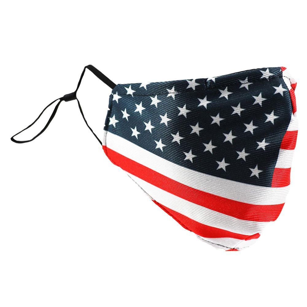SCHAMPA Patriot Facemask - USA Traditional Flag