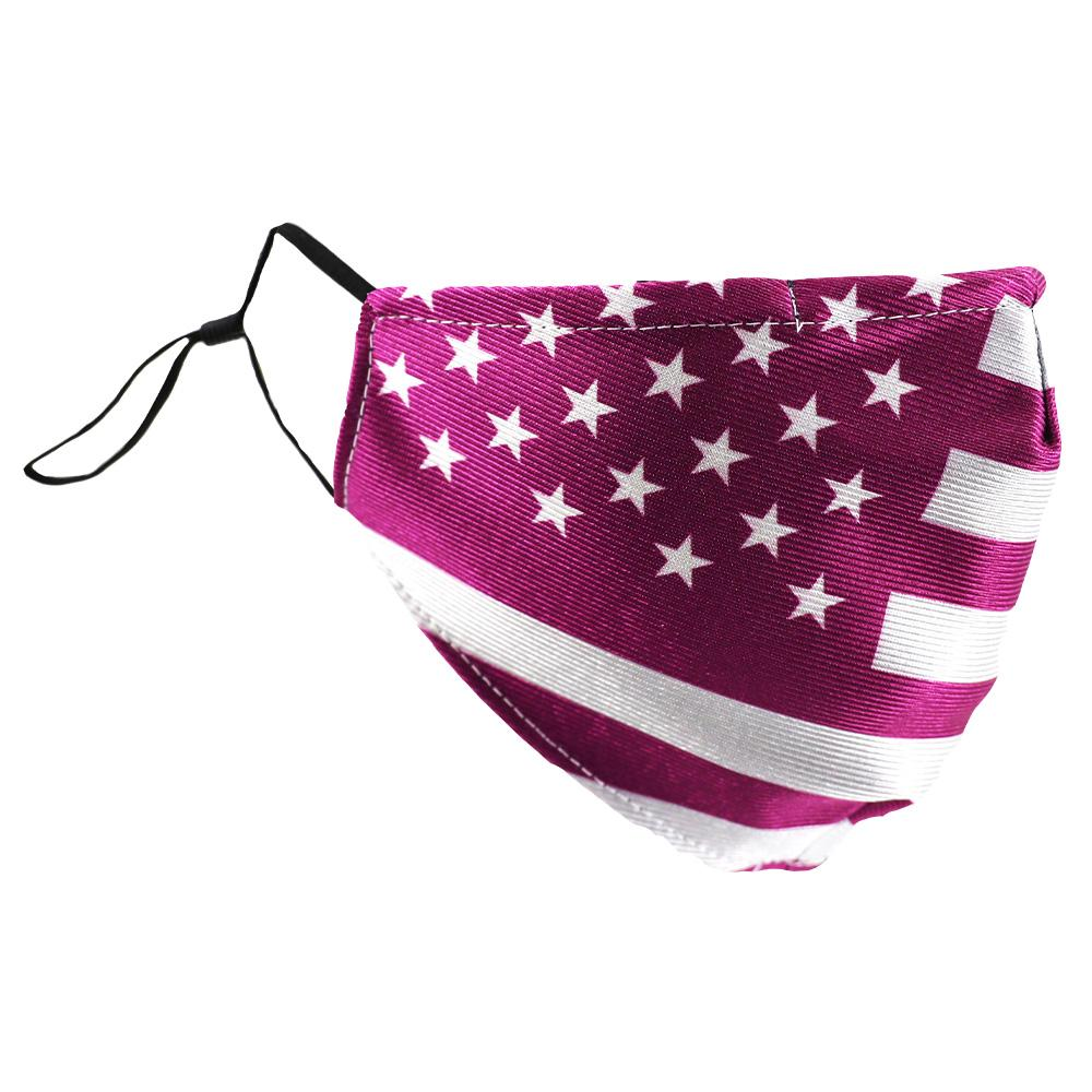SCHAMPA Patriot Facemask - Traditional Purple Flag
