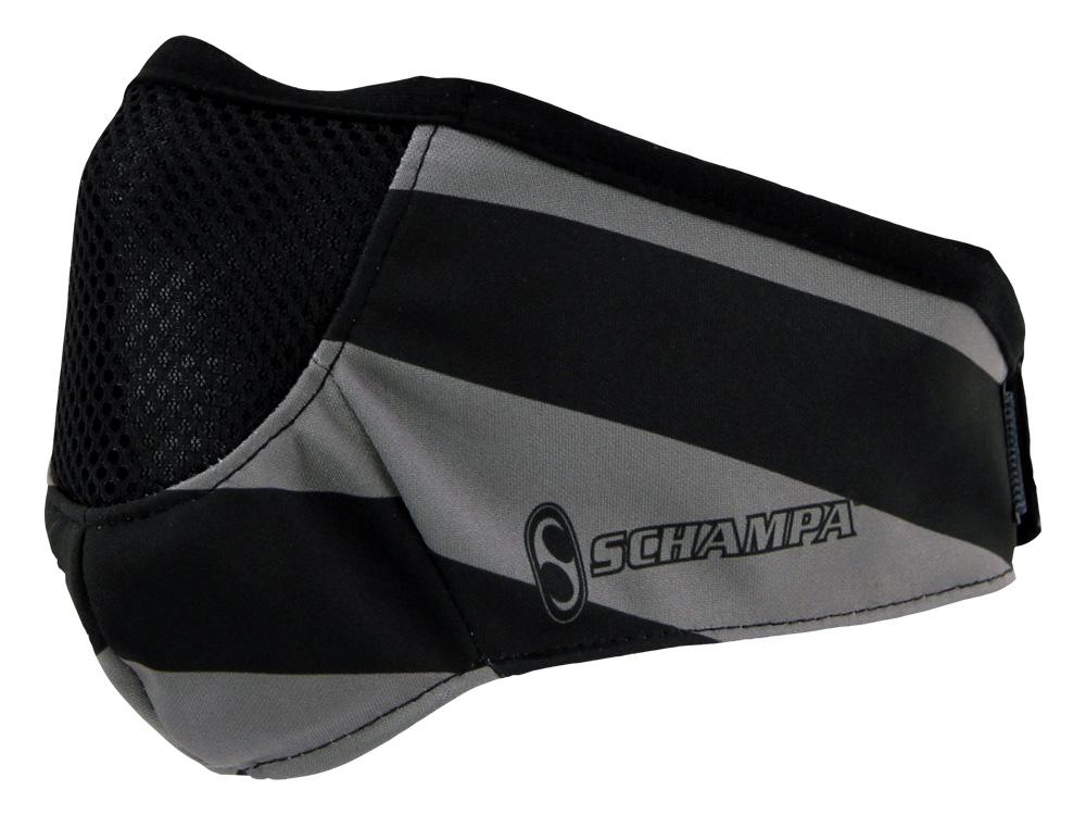 SCHAMPA Stealth Facefit Facemask - Patriot Traditional Grey Flag
