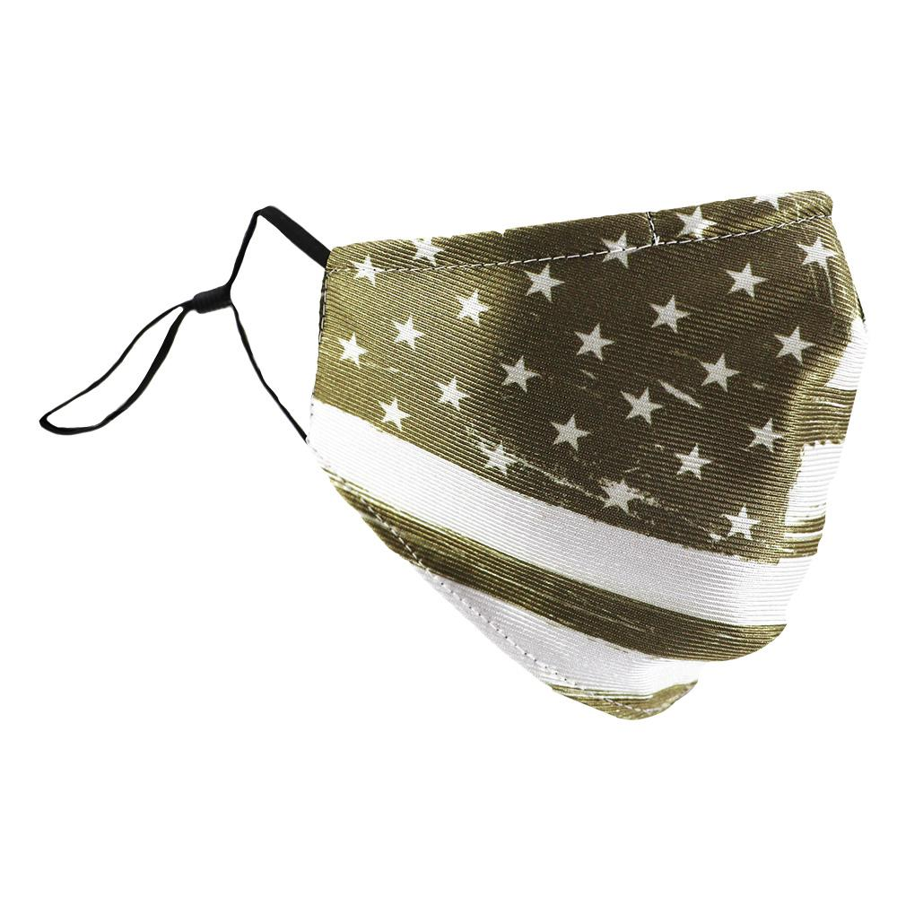 SCHAMPA Patriot Facemask - Distressed Sand Flag