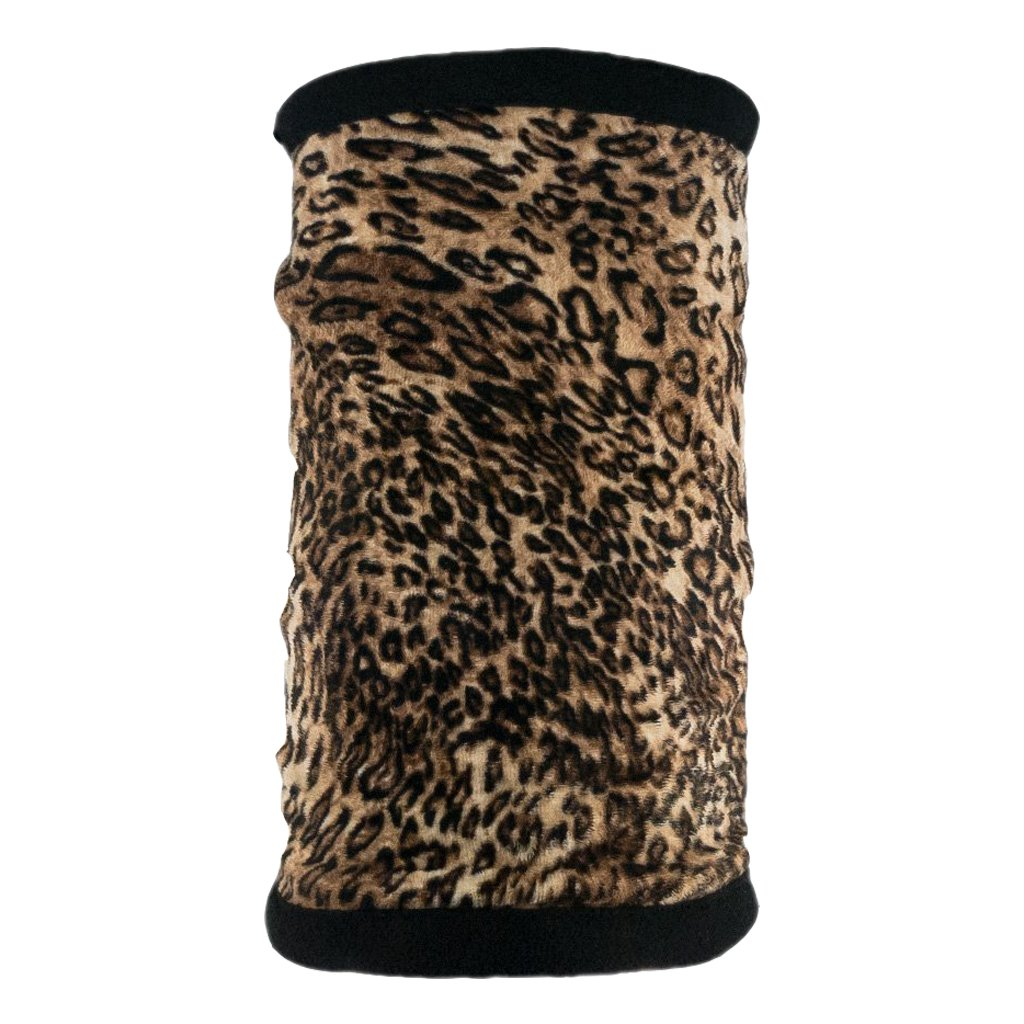 SCHAMPA Supersoft Neckgaiter - Brown Cheetah