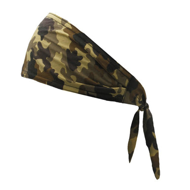 Old School Bandana - Camo Brown