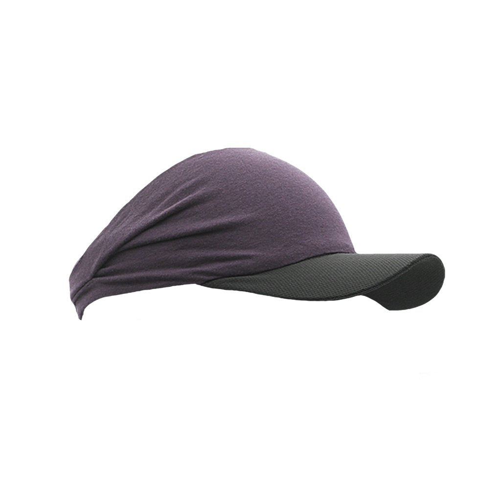 SCHAMPA Stretch Visor - Plum