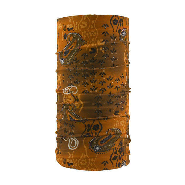 SCHAMPA Tube - Orange Snake Paisley