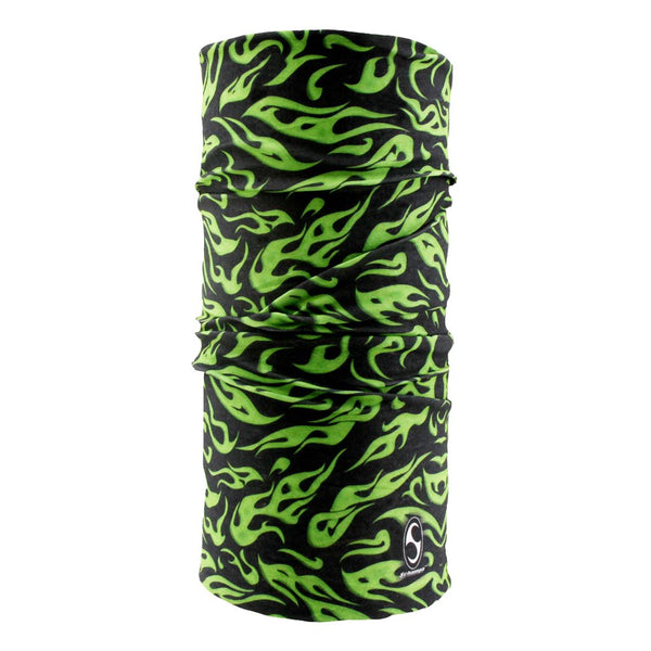 SCHAMPA Tube - Green Mini Flames