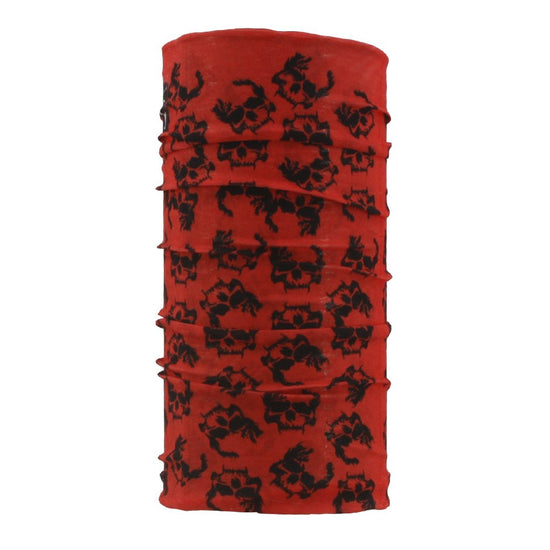 SCHAMPA Tube - Red Skull