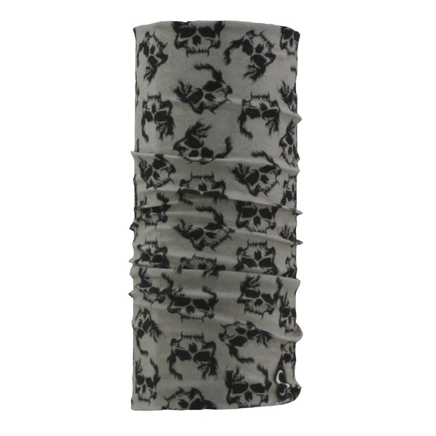 SCHAMPA Tube - Grey Skull