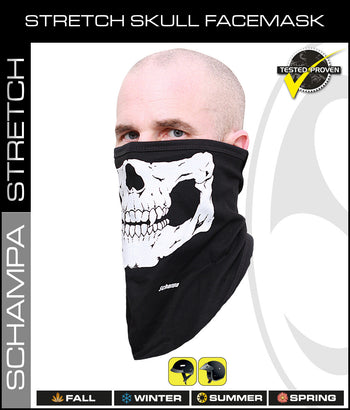 SCHAMPA's Original Skull Face Masks