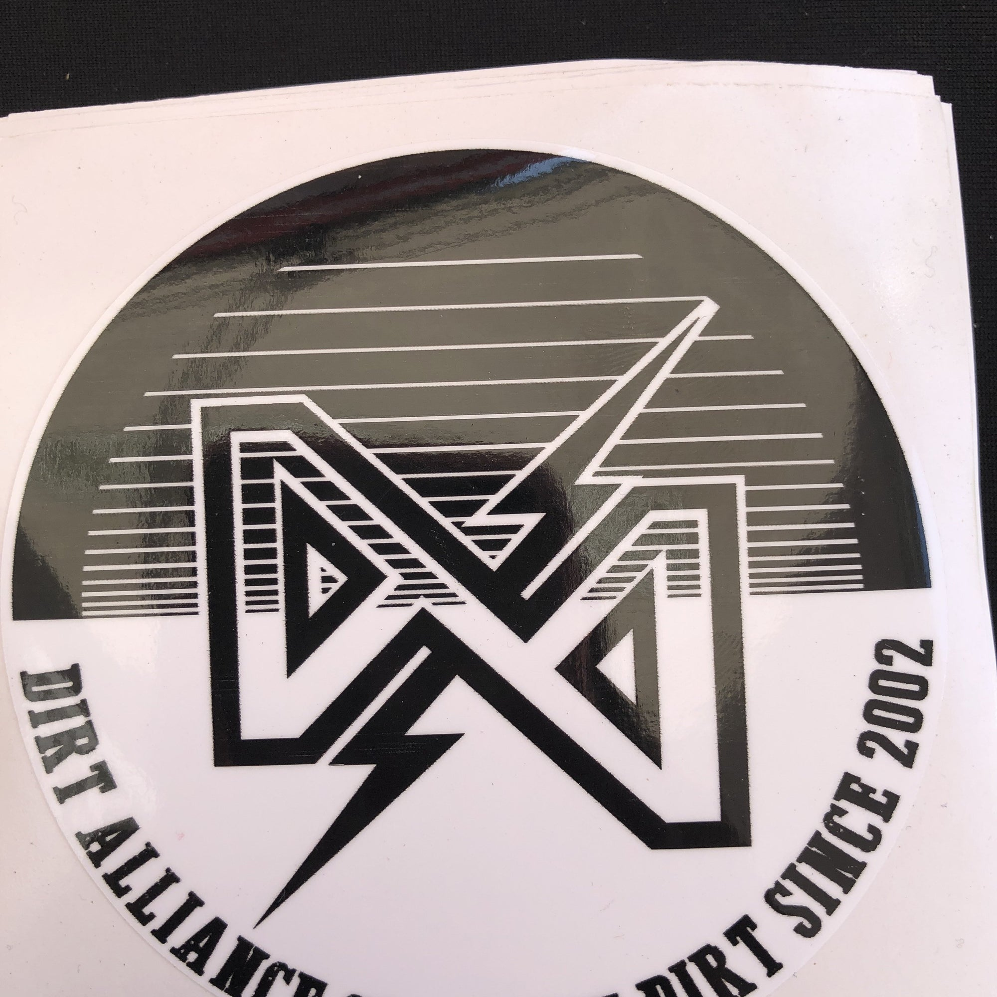 Dirt Alliance Spool Slap Sticker - S