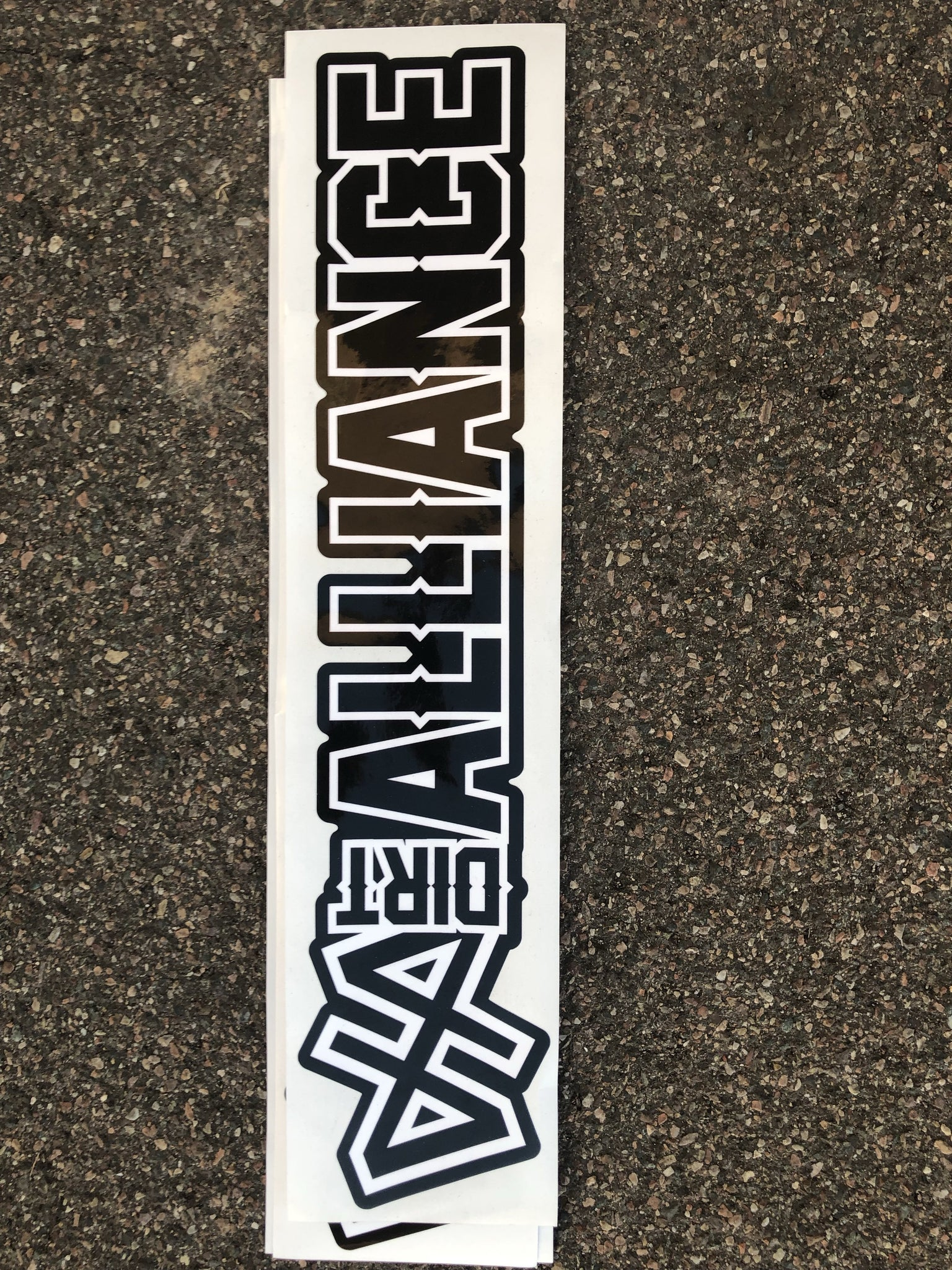 "Dirt Alliance Slap 24"" Sticker"
