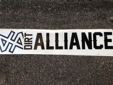 "Dirt Alliance Decal 24"" Long Sticker"
