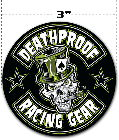 Deathproof Sticker