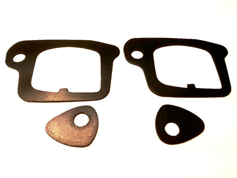 Left & Right Door Handle Gaskets Seals 4pc Set Cadillac 1971-90