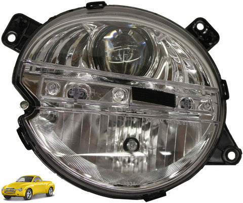 Chevrolet 2003-2006 SSR Headlight Assembly Choose LH or RH