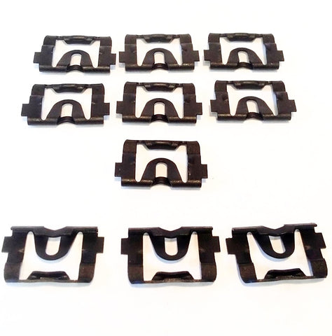 1968-1972 GM Window Molding Clips Reveal Trim Fasteners