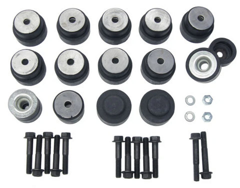 1971-1974 Buick Riviera Boat Tail Body Mounts Bushings & Bolts Kit