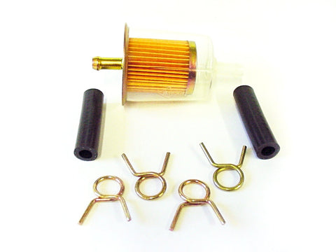 fuel filter, inline fuel filter, in line fuel filter, fuel filters, GM Fuel filter, Universal inline fuel filter