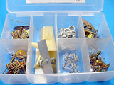 68 piece Assorted Body Side Moulding Fasteners Clips Kit