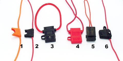 blade fuse holder, atc fuse holder, atx fuse holder, ato fuse holder, Blade fuse holder pigtail, blade fuse pigtail