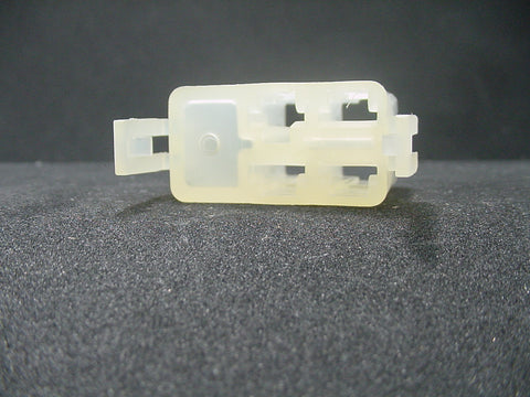 4 Way Terminal Housing With Latch Female Natural Delphi Packard, Terminal Housing, Connector Housing, 56 Series 12004101